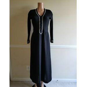Vintage Long Sleeve Maxi